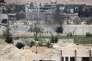 Douma, dans la banlieue de Damas (Syrie), le 8 avril.