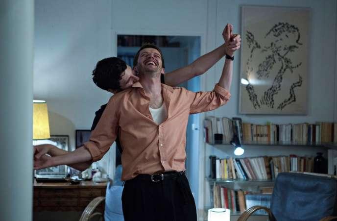 Vincent Lacoste et Pierre Deladonchamps dans «Plaire, aimer et courir vite», de Christophe Honoré, en compétition au 71e Festival de Cannes.