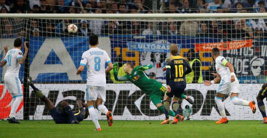 Dimitri Payet a inscrit le quatrième but, celui de la qualification de l'OM.