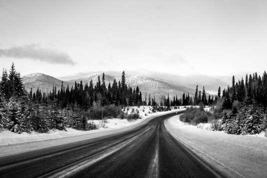 97 Highway (Alaska Highway). Colombie-Britanique, Canada, 2017.