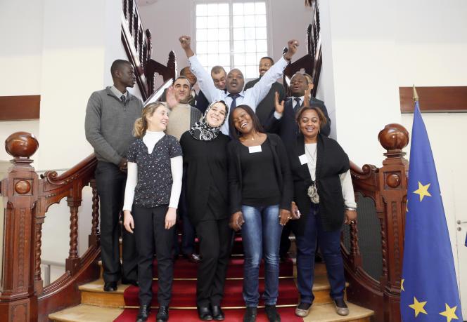Des étudiants du Cameroun, des Comores, de Djibouti, du Gabon, du Liban, du Maroc, du Tchad et de France en formation à l'Ecole nationale d'administration en 2013.
