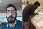 Sans visa, Hassan Al-Kontar ne pourrait pas quitter l'aéroport de Kuala Lumpur en Malaisie. Il raconte son expérience en vidéo sur Twitter.