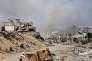 A Jobar (Syrie), dans la Ghouta orientale, le 5 avril.