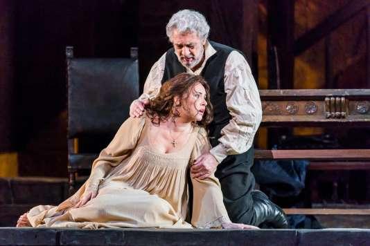 L'opéra de Verdi «Luisa Miller» au Metropolitan Opera de New York, le 22 mars.