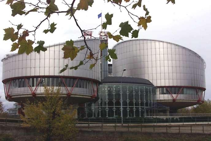 Le Palais des droits de l'homme, à Strasbourg, où est installée la Cour européenne des droits de l'homme, présidée par l'Italien Guido Raimondi.