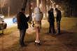 Une opération antiprostitution dans le bois de Boulogne, à Paris, en 2012.