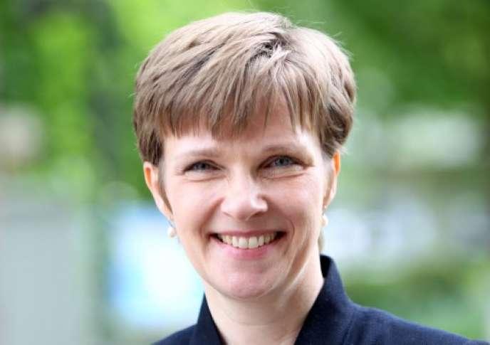Claudia Buch, vice-présidente de la Banque centrale allemande en 2014.