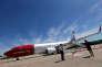 Un Boeing 737-800 de la compagnie Norwegian à l'aéroport Ezeiza à Buenos Aires, en Argentine, le 8 mars.