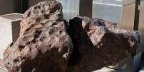 Echantillons de la météorite de Gibeon.