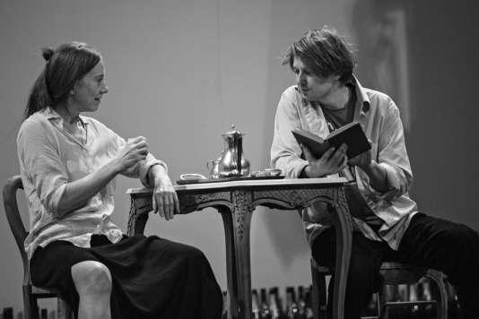 «Le Récit d'un homme inconnu»,d'Anatoli Vassiliev (photo de répétition).
