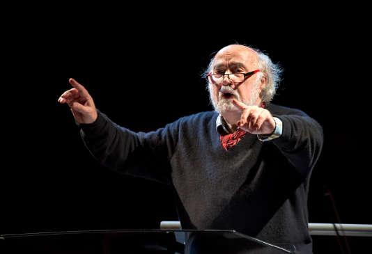 Le chef d'orchestre Jean-Claude Malgoire est mort le 14 avril 2018.