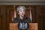 Les frappes en Syrie sont « un message à ceux qui pensent qu'ils peuvent utiliser les armes chimiques avec impunité », a déclaré la première ministre britannique.