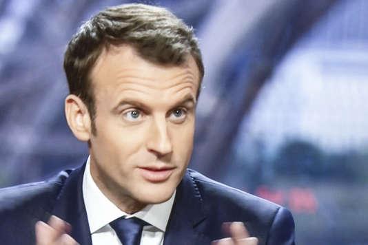Emmanuel Macron, le 15 avril 2018 sur BFM-TV, RMC et« Mediapart».