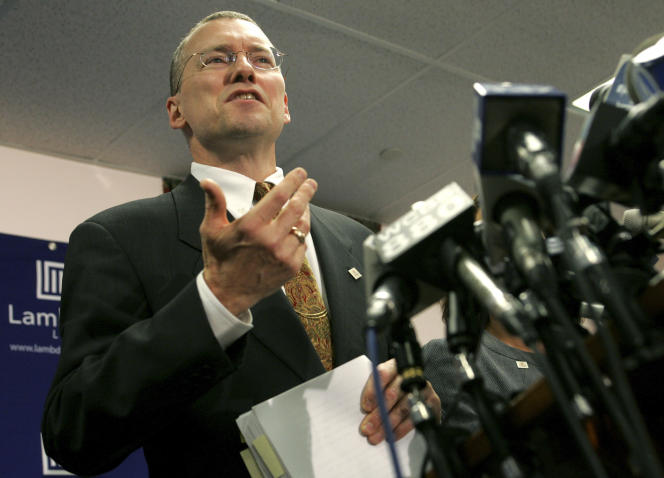 Le célèbre avocat américain David Buckel, en novembre 2006.