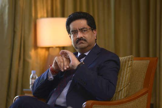 Kumar Mangalam Birla, président du Aditya Birla Group, à Bombay, en Inde, le 3 mai 2015.