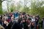 Des manifestants sur la ZAD de Notre-Dame-des-Landes, le 15 avril.