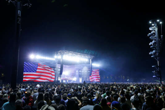Le festival de musique Coachella se tient du 13 au 22 avril à Indio, en Californie.