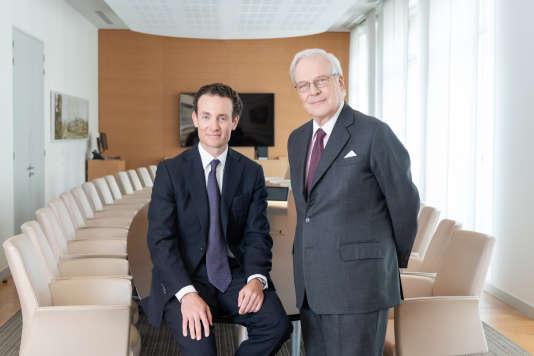 Alexandre et David de Rothschild.