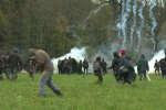 A Notre-Dame-des-Landes, des heurts en marge du rassemblement, dimanche, pour soutenir les occupants de la ZAD.