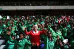 Les funérailles de Winnie Mandela dans le stade Orlando à Soweto le 14 avril 2018