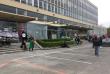Un des bâtiments de l'université de Paris-Nanterre, bloqué, le 16 avril.