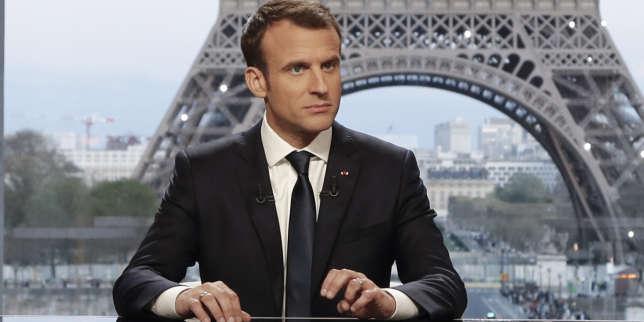Emmanuel Macron le 15avril.