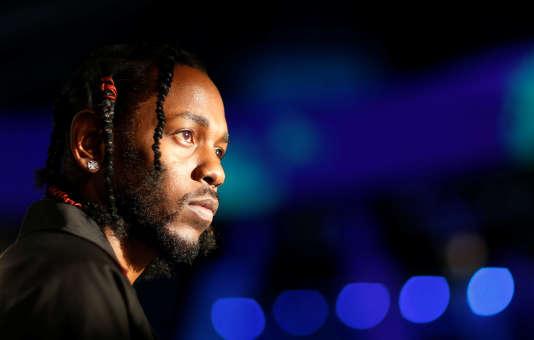 Le musicien Kendrick Lamar aux MTV Video Music Awards à Inglewood, en Californie, le 27 août 2017.