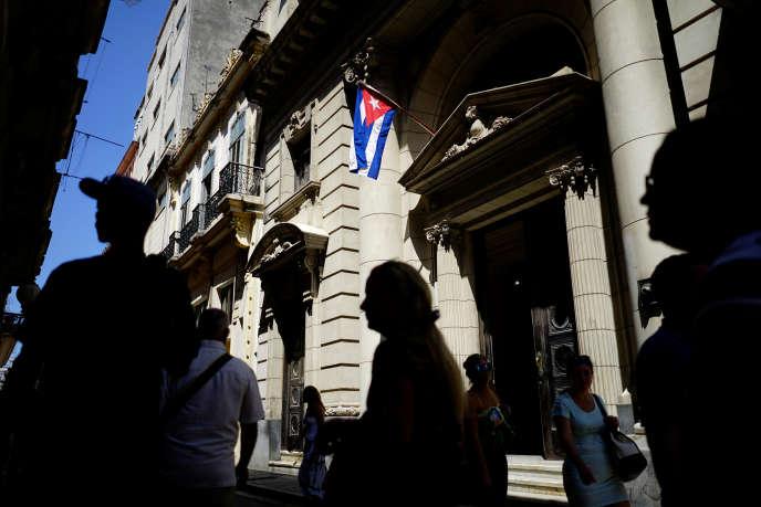 Dans les rues de La Havane, capitale de Cuba, le 12 avril.