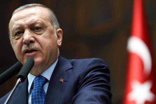 Recep Tayyip Erdogan le 17 avril.