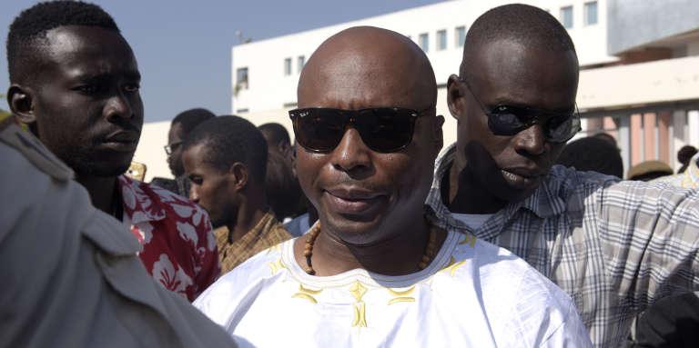 L'ancien député socialiste Barthélémy Dias, à Dakar, en décembre 2016.