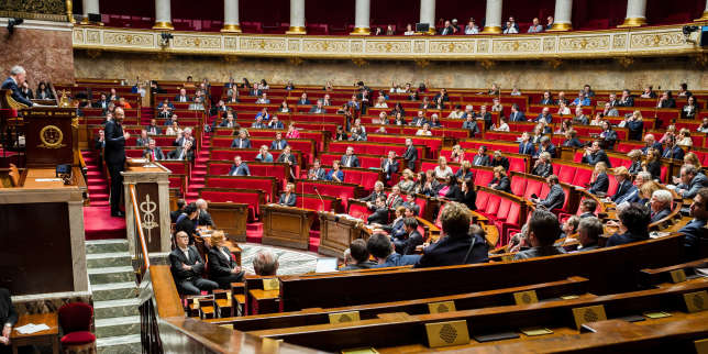 L'Assemblée nationale, le 16 avril 2018.