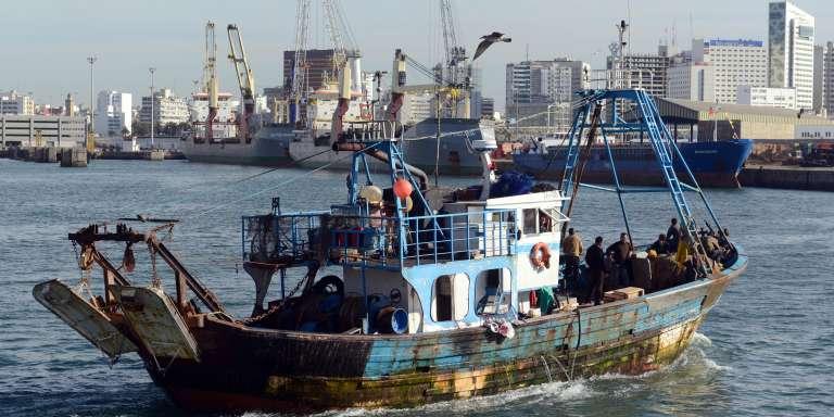 bateau de peche marocain