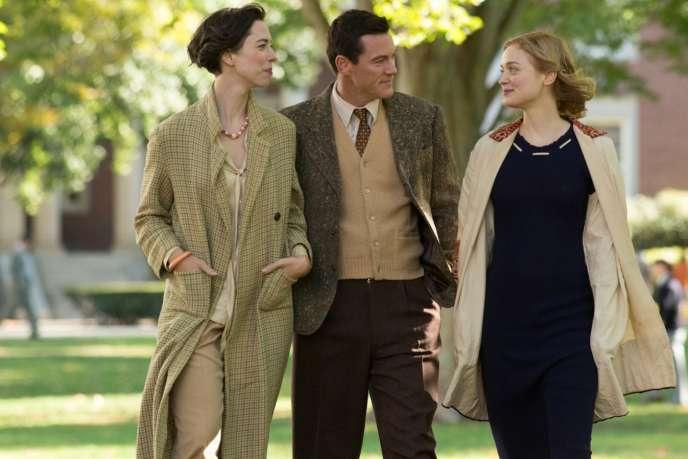 Rebecca Hall, Luke Evans etBella Heathcote dans«My Wonder Women», d'Angela Robinson.