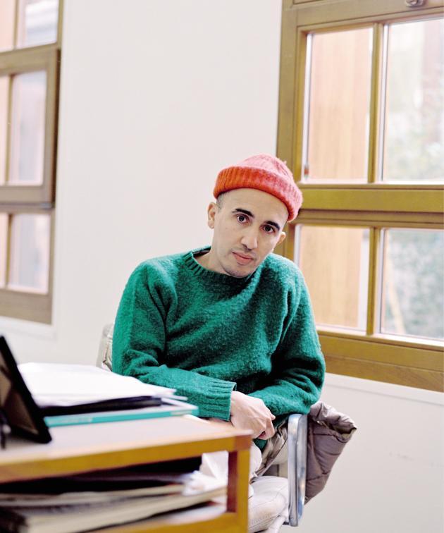 Ramdane Touhami, le 13 avril dans les locaux de Buly, à Paris.