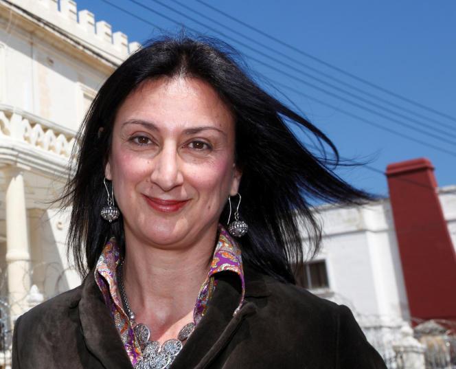 La journaliste Daphne Caruana Galizia en 2011.