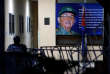 REFILE - CORRECTING GRAMMAR A picture of Cuba's President Raul Castro is seen at an office in Havana, Cuba April 18, 2018. REUTERS/Stringer NO RESALES. NO ARCHIVES.
