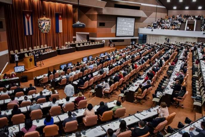 L'Assemblée nationale cubaine a ouvert une session inaugurale pour désigner le futur président, mercredi 18 avril.