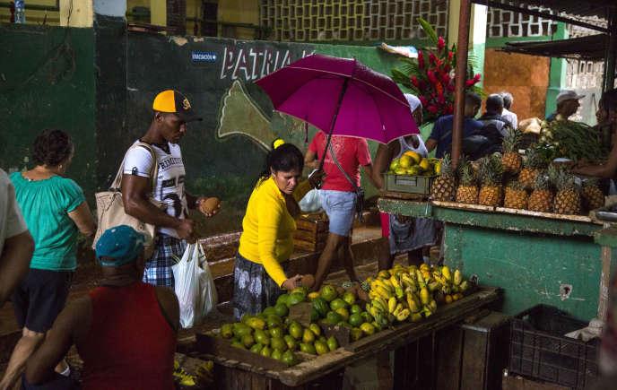 A La Havane, en décembre 2015.