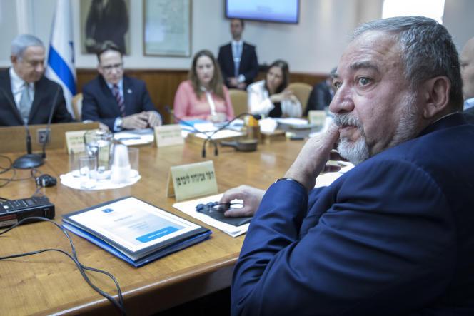 Le ministre israélien de la défense, Avigdor Lieberman, le 4 février à Jérusalem.