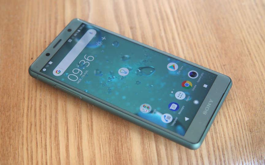 Le coloris vert gris du petit Sony.