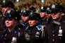 Cérémonie de remise de diplômes de policiers new-yorkais, au Madison Square Garden, à New York, le 18 avril.