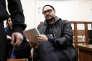 Le metteur en scène et cinéaste russe Kirill Serebrennikov lors de son audition devant le tribunal à Moscou, le 18 avril 2018.