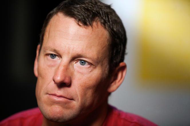 Lance Armstrong, lors d'une interview àAustin, au Texas, le 15 février 2011.