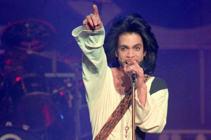 Prince en juin 1990.