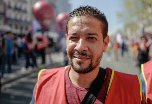 Mouloud Sahraoui, secrétaire général CGT dans une ancienne filiale de la SNCF :« Ça «coagule», comme dit Macron, dans tous les secteurs »