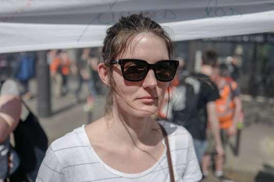 Aurélie Caulier, ergothérapeute dans un hôpital psychiatrique parisien :« On s'inquiète pour ceux qui n'ont pas notre statut et sont précaires »
