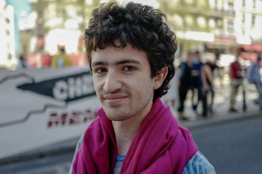 Mickaël Otsum, étudiant en master à Paris-I-Tolbiac :« La convergence des luttes, on la voit ».