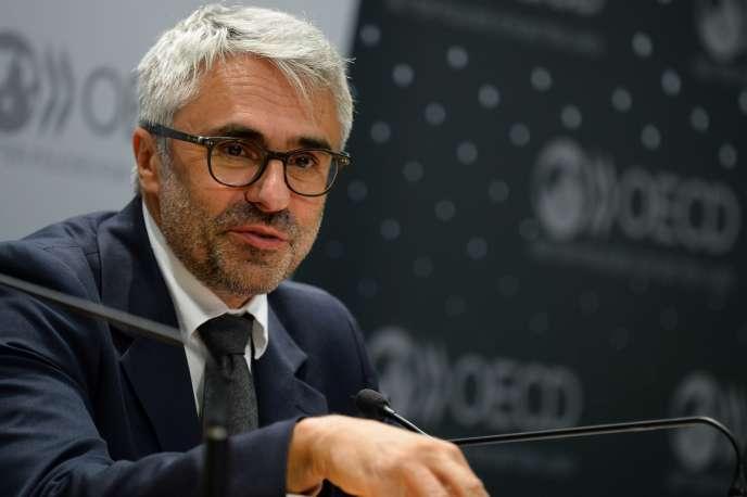 Pascal Saint-Amans, directeur du centre de politique et d'administration fiscales de l'OCDE, à Paris, en juin 2017.