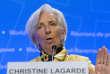 Christine Lagarde, directrice générale du Fonds monétaire international le 19 avril à Washington.