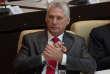 Le président Miguel Diaz-Canel, à l'Assemblée nationale cubaine, à La Havane, le 19avril.